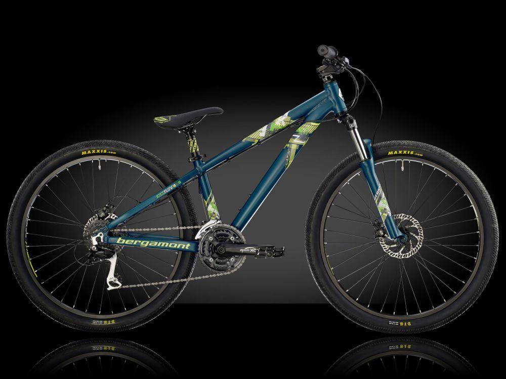 """Велосипед Bergamont 14"""" 26"""" Kiez Flow, (8140) 33см (S) petrol/neon yellow/neon green (matt)"""