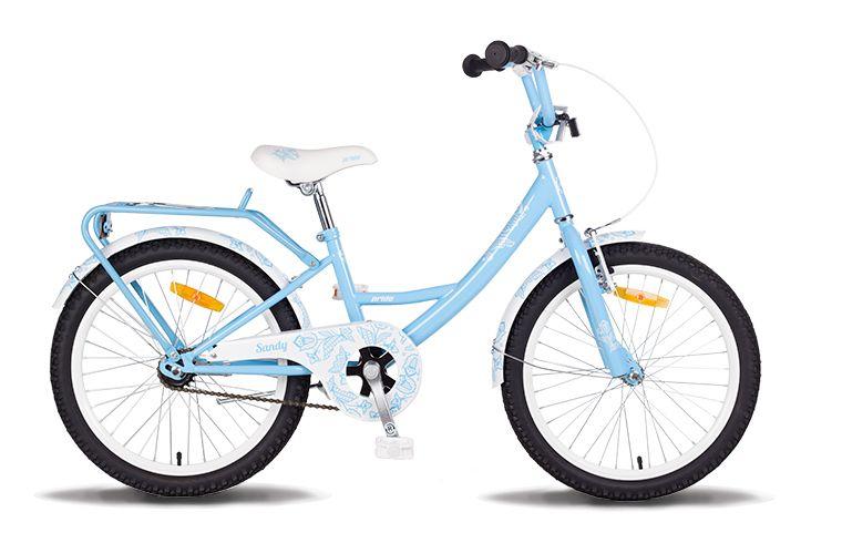 Велосипед 20 PRIDE SANDY 2014 сине-белый