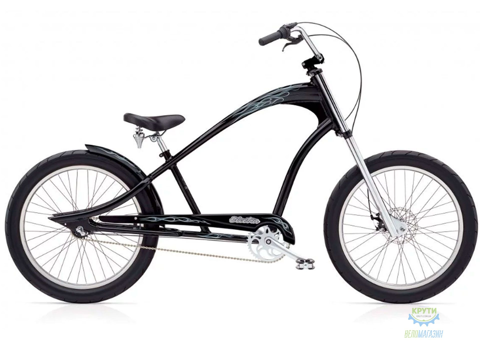 Велосипед 24 Electra Ghostrider 3i (Alloy) Men's Black