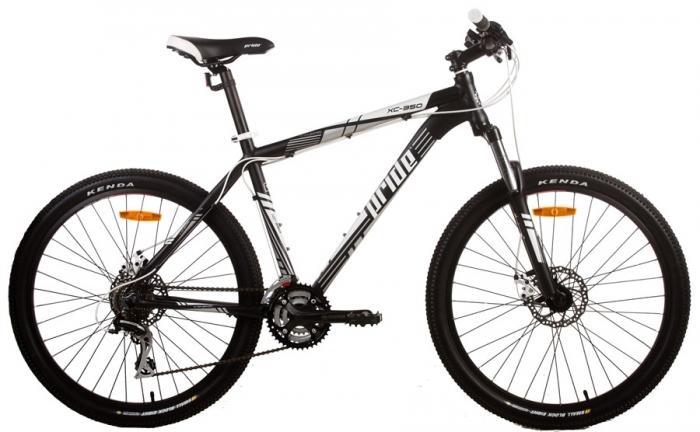 Велосипед 26 PRIDE XC-350 MD black-white 2013