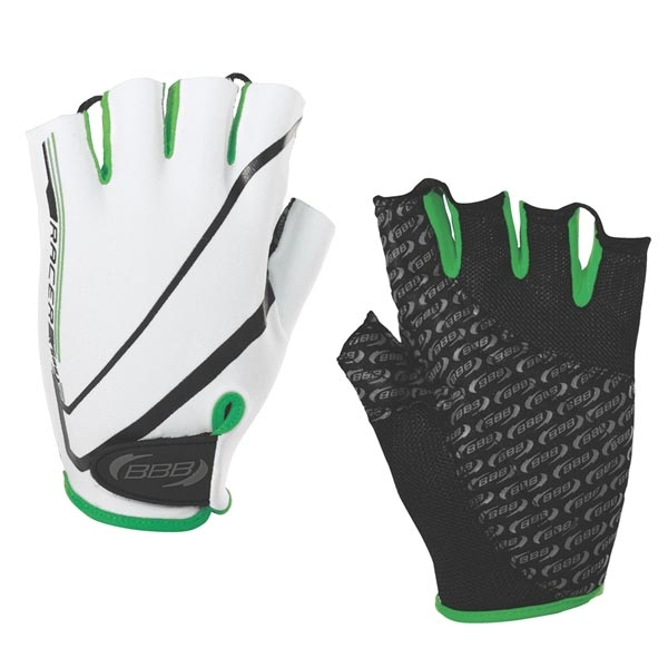 Велоперчатки BBB White\green XXL