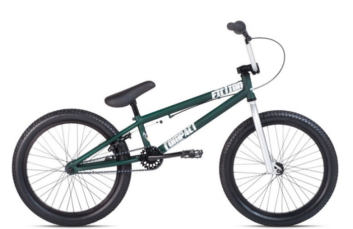Велосипед 20 Fiction Compact 2 2014 Matte DarkGreen