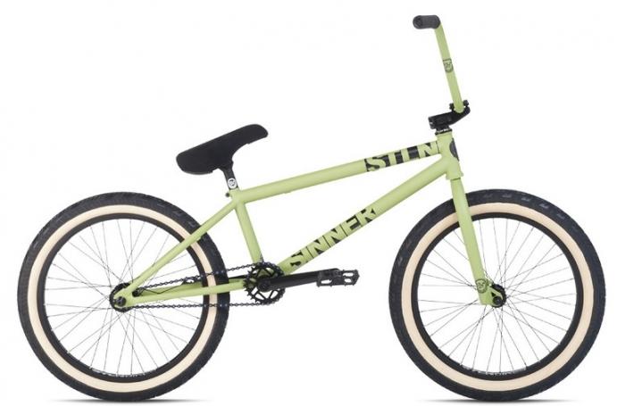 Велосипед 20 STOLEN Sinner RHD 1 2014 Green