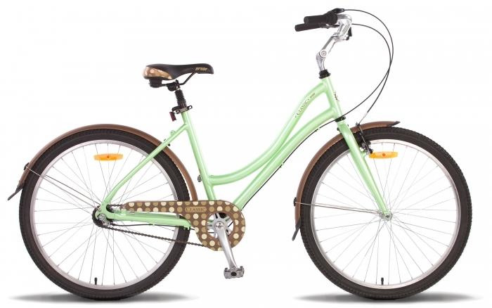 Велосипед 26'' PRIDE CLASSIC 16оливковый 2015