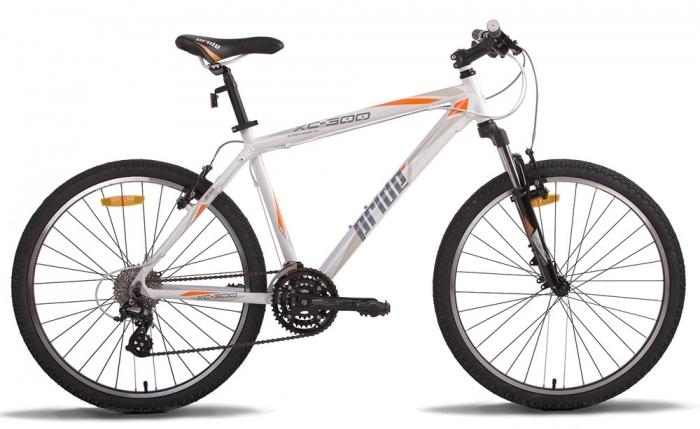 Велосипед 26 PRIDE XC-300 17 2014 бело-оранжевый