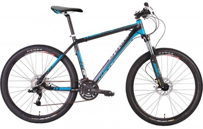 Велосипед 26 PRIDE XC-350 17 2014 черно-синий