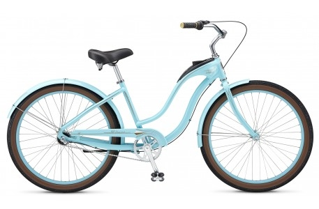 Велосипед 26 Schwinn Debutante Women 2015 light blue