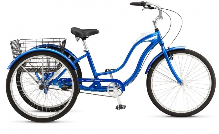 Велосипед 26 Schwinn Town&Country 2015 blue