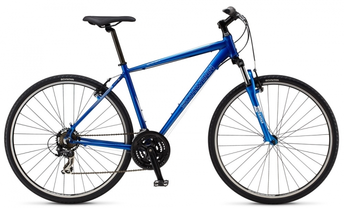 Велосипед 28 Schwinn Searcher 4 M 2014 navy blue