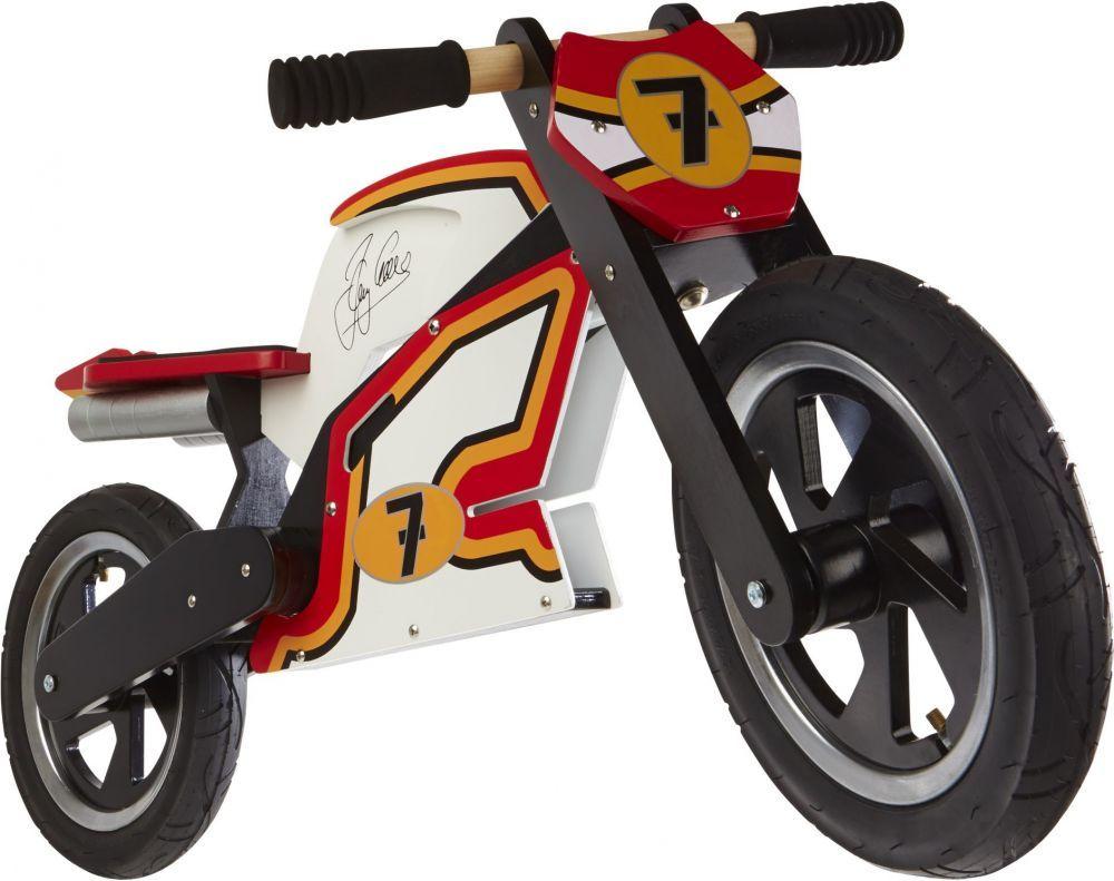 Беговел 12 Kiddy Moto Heroes деревянный, Barry Sheene