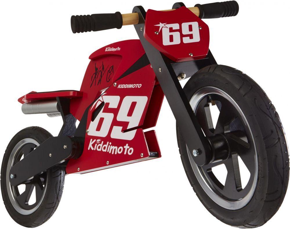 Беговел 12 Kiddy Moto Heroes деревянный, Nicky Hayden 2009