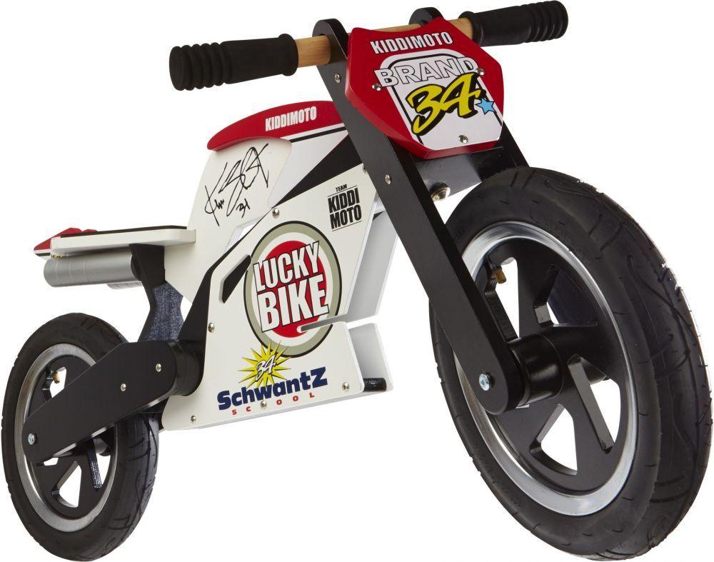 Беговел 12 Kiddy Moto Heroes деревянный, Kevin Schwantz