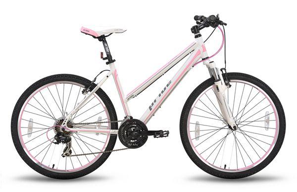 Велосипед 26'' PRIDE STELLA 18 бело-розовый 2015