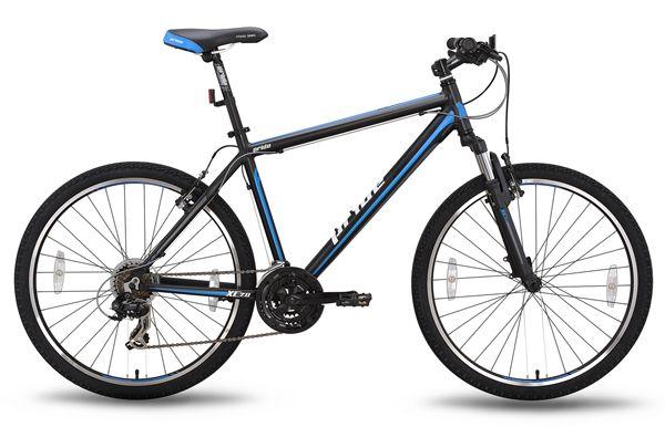 Велосипед 26'' PRIDE XC-2.0 15 черно-синий 2015