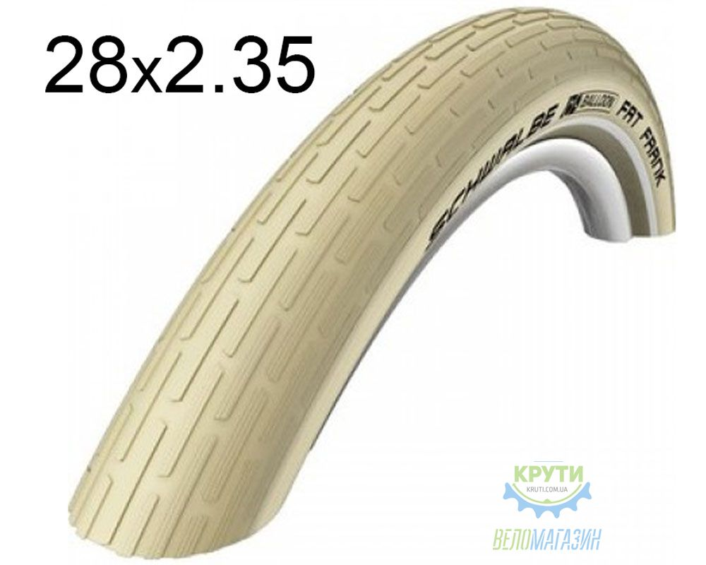 Покрышка 26x2.35 (60-559) Schwalbe FAT FRANK HS375 K-Guard C/C+RT SBC, 50EPI
