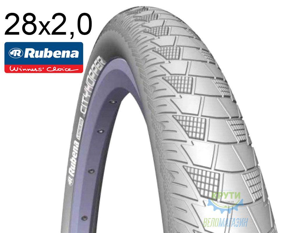 Покрышка 28x2.00 (52x622) MITAS (RUBENA) CITYHOPPER V99 Classic серая