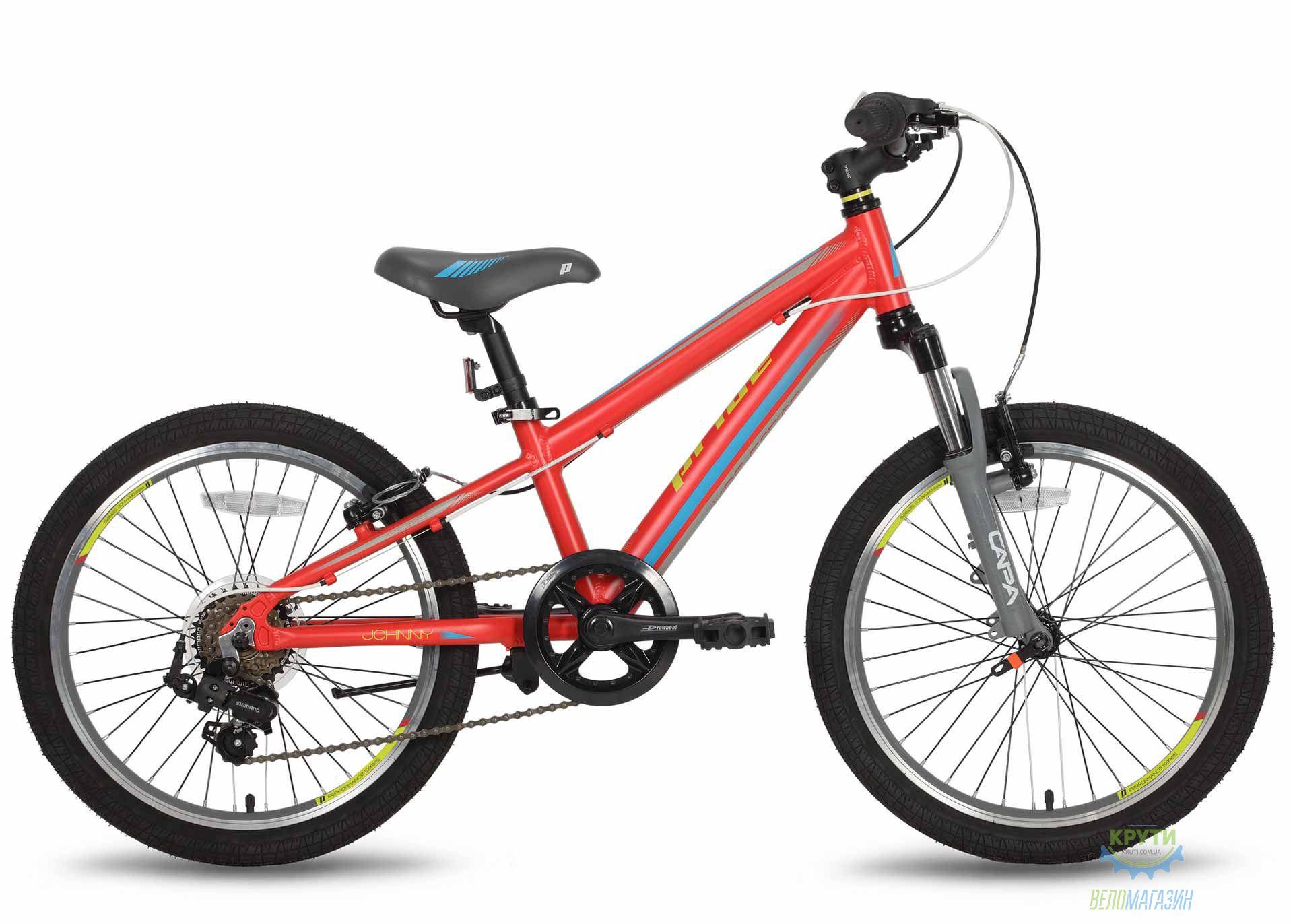 Велосипед 20'' PRIDE JOHNNY Race красно-желтый 2016