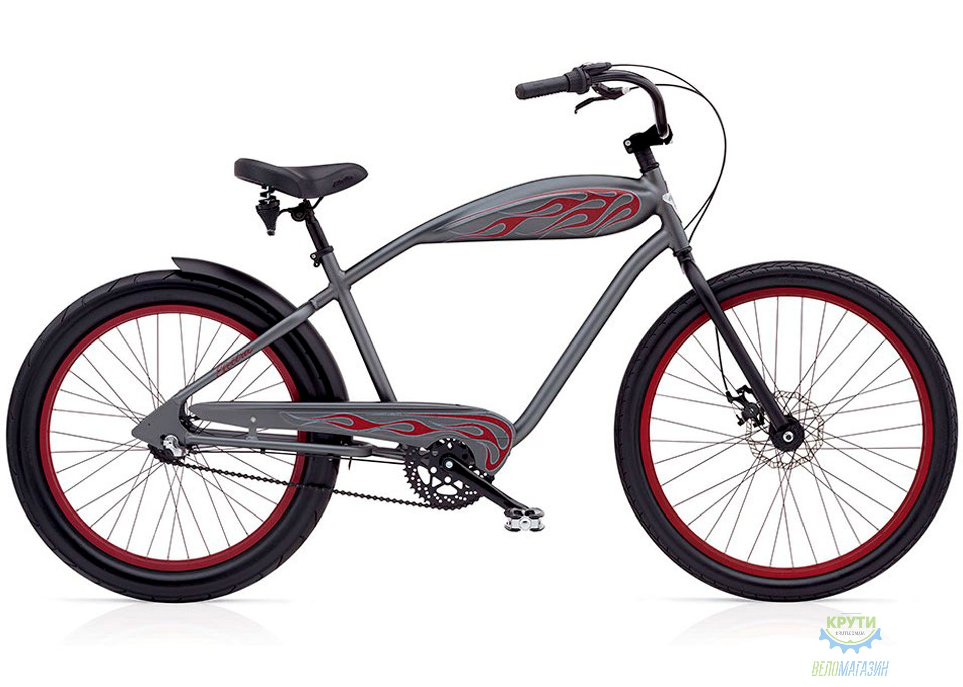 Велосипед 24-26 Electra Relic 3i Mens's Zinc Metallic