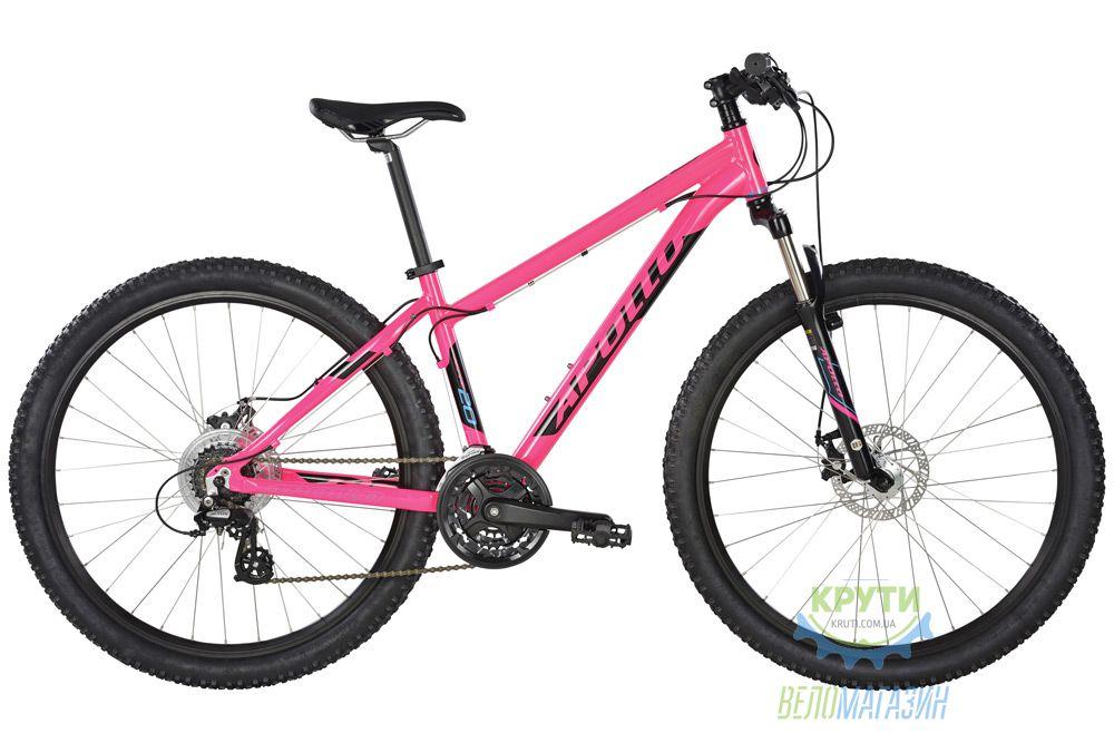 Велосипед 27,5 Apollo Aspire 20 WS рама - S Gloss Pink/Gloss Black/Gloss Blue 2018