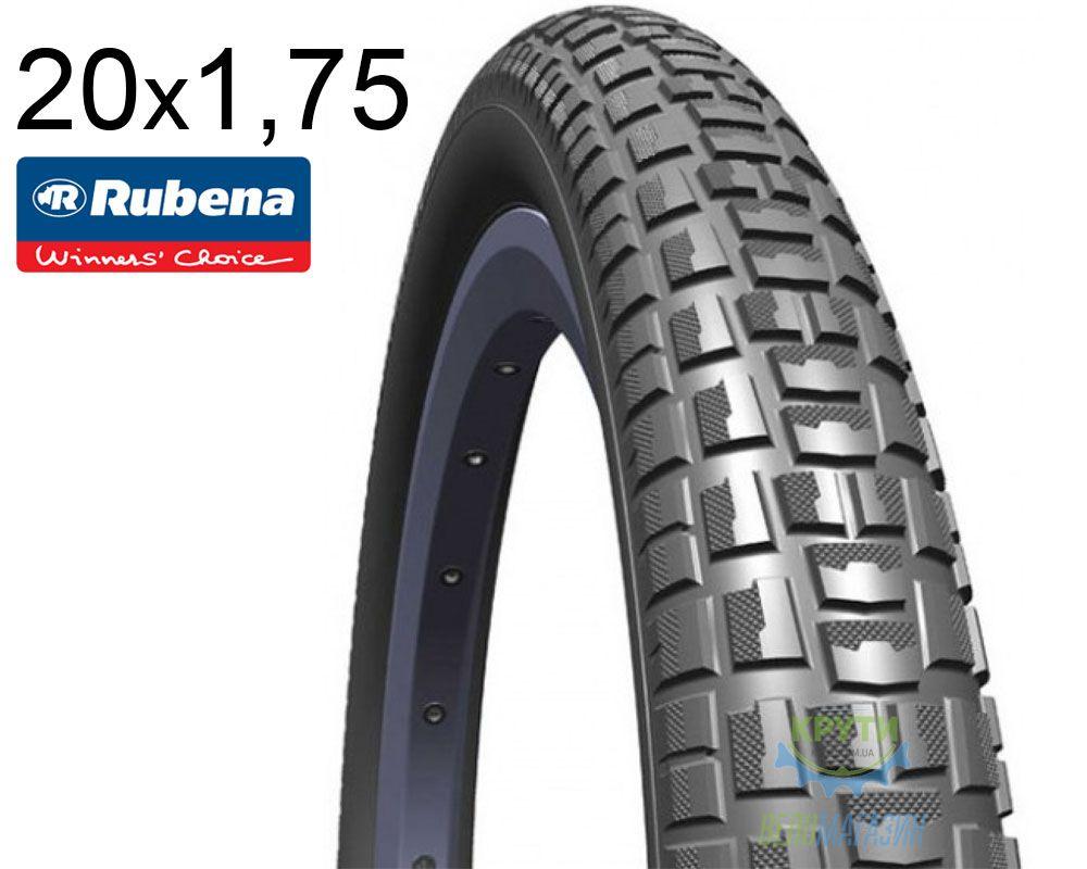 Покрышка 20x1.75х2.0 (47x406) MITAS (RUBENA) NITRO V89 Classic черная