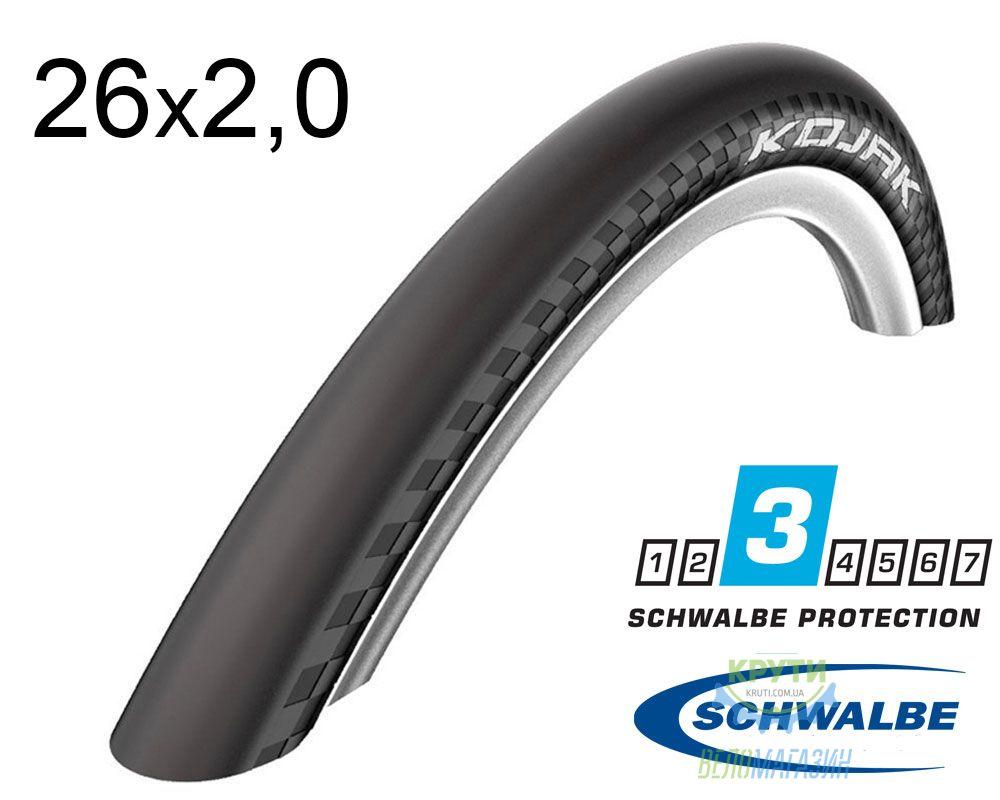 Покрышка 26x2.00 (50-559) Schwalbe KOJAK RaceGuard, Folding B/B-SK+RLA HS385 SpC 67EPI