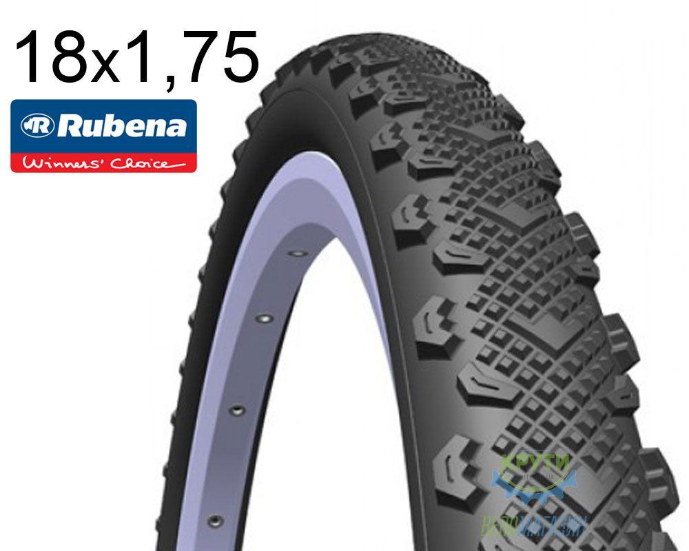 Покрышка 18x1.75*2 (47x355) MITAS (RUBENA) WINNER V45 Pre Classic черная