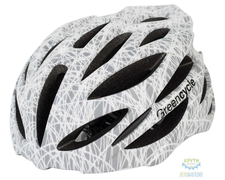 Шлем Green Cycle Alleycat размер 58-61см серо-белый