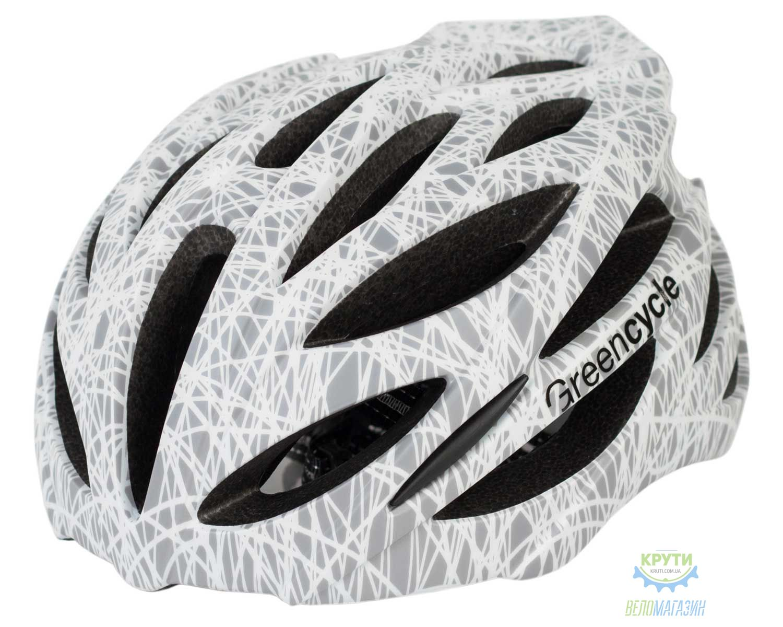 Шлем Green Cycle Alleycat размер 54-58см серо-белый