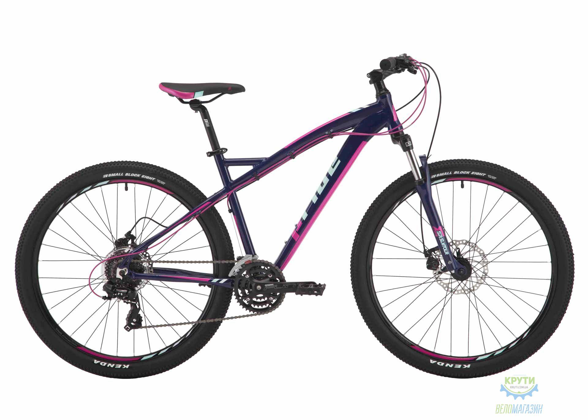 Велосипед 27,5 Pride Roxy 7.2 рама - 16 тёмно-синий/малиновый/мятный 2017