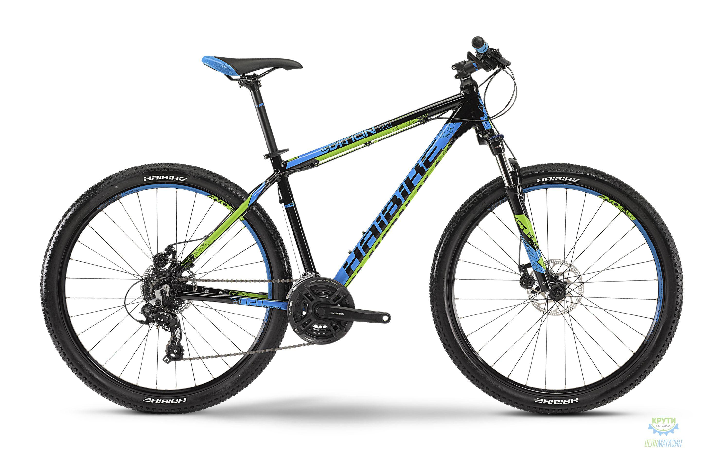 Велосипед Haibike Edition 7.20, 27.5&quot,  рама 35, черно-синий