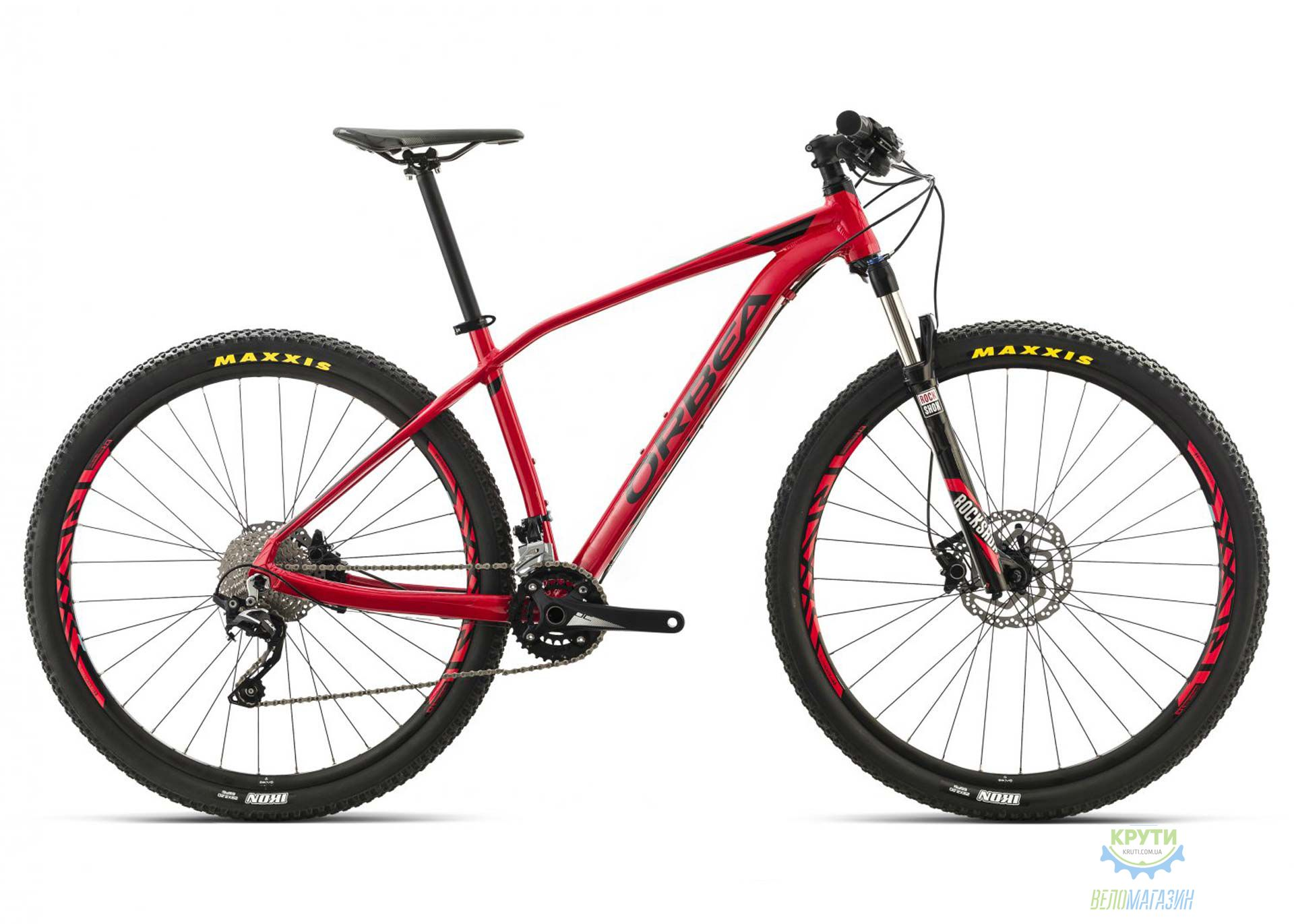 Велосипед Orbea ALMA 29 H50 M Red-Orange 2016