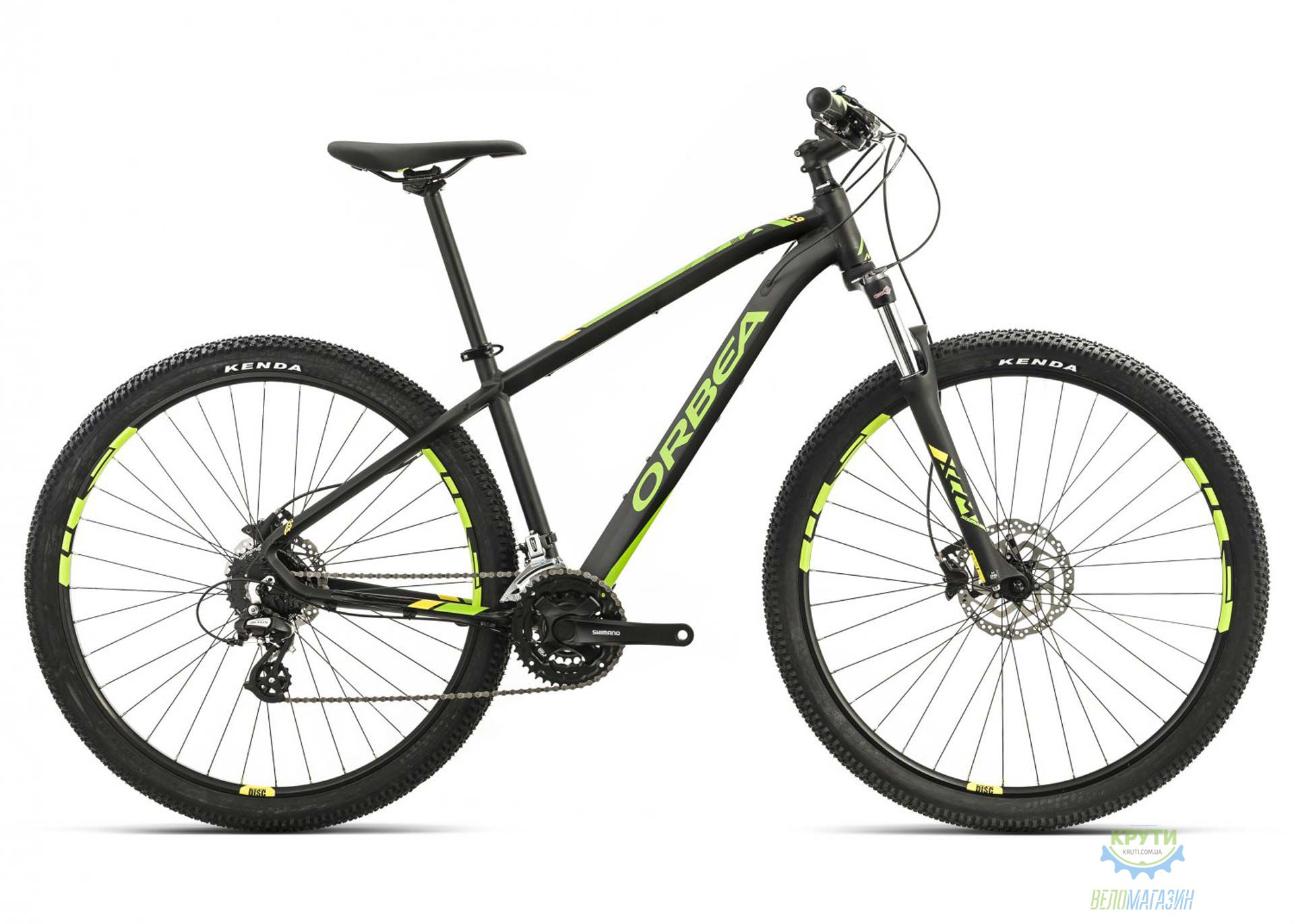 Велосипед Orbea MX 27 40 L Black-green-yellow 2017