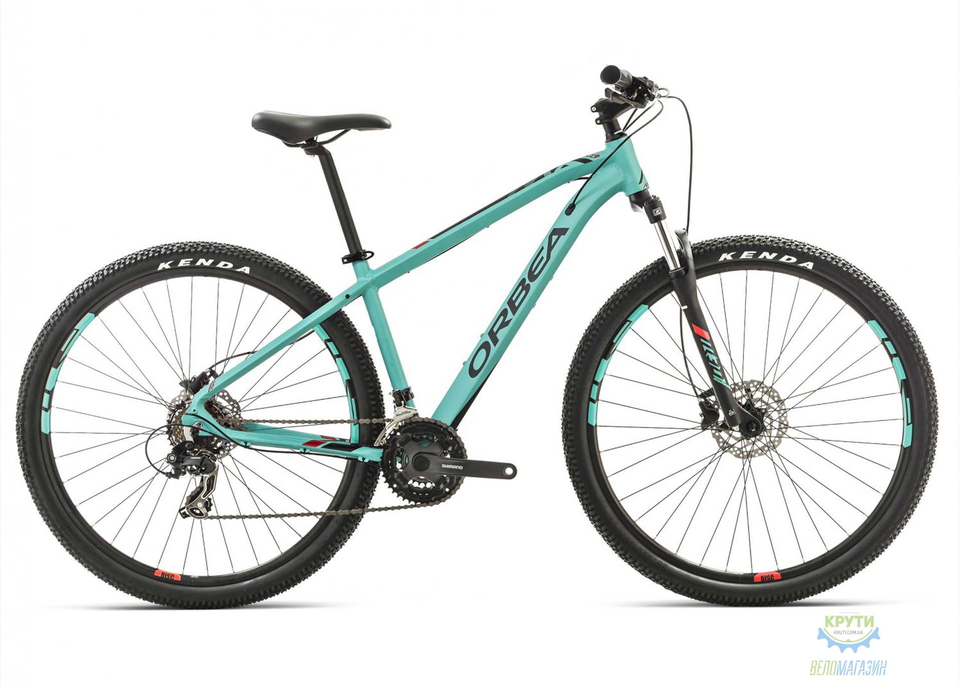 Велосипед Orbea MX 27 50 L Green-red 2017