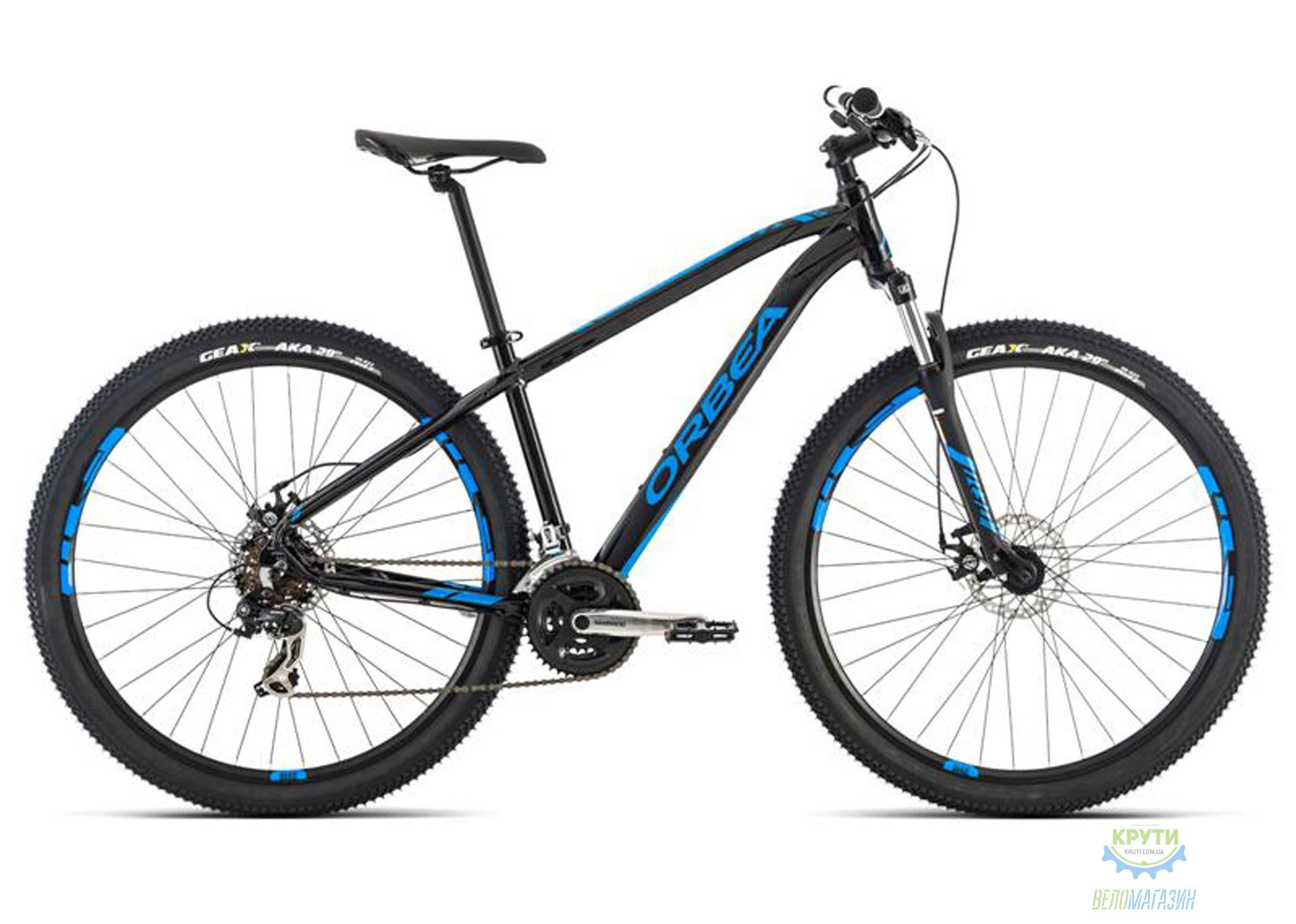 Велосипед Orbea MX 27 50 S Black-Blue 2016