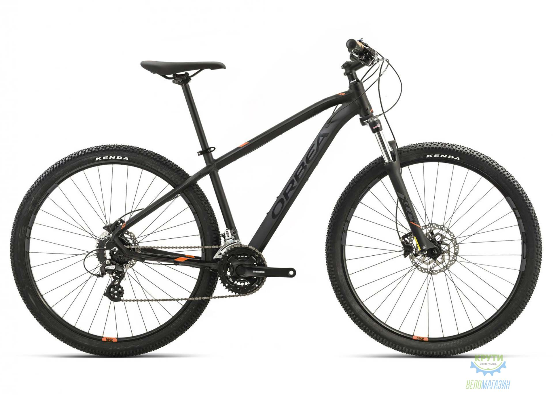 Велосипед Orbea MX 29 40 L Black-orange 2017