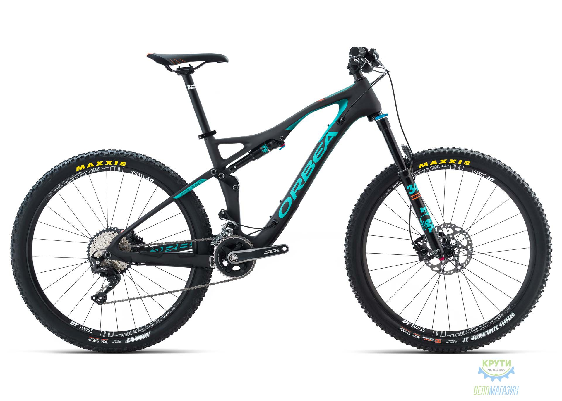 Велосипед Orbea OCCAM AM H30 L Black-green 2017