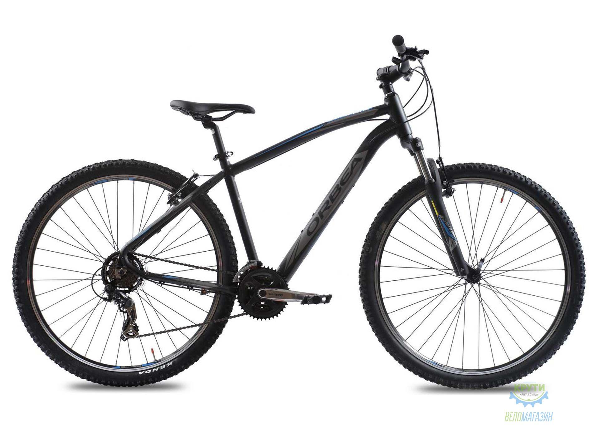 Велосипед Orbea SPORT 27 30 L Black-Blue 2016