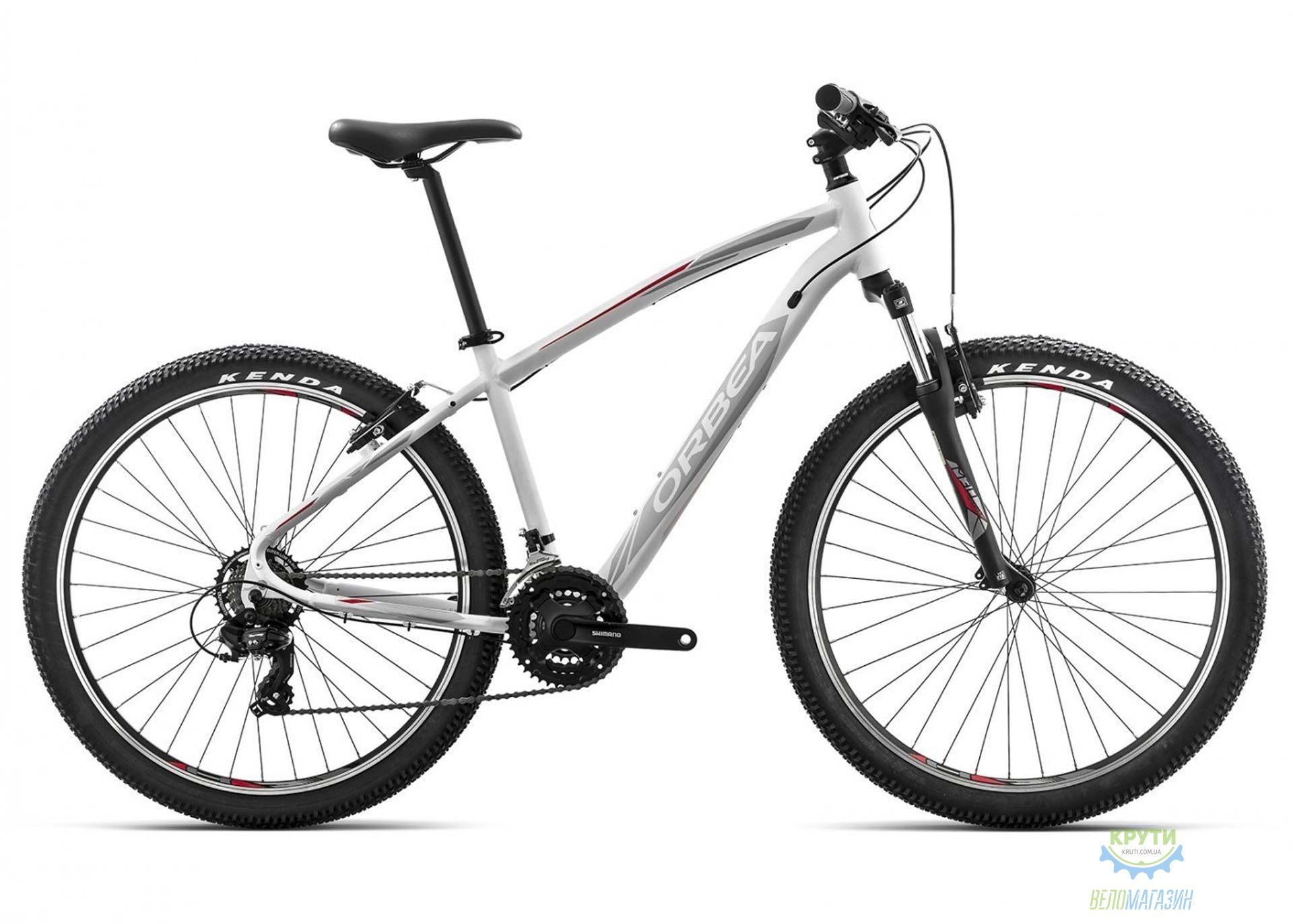 Велосипед Orbea SPORT 27 30 L White-red 2017