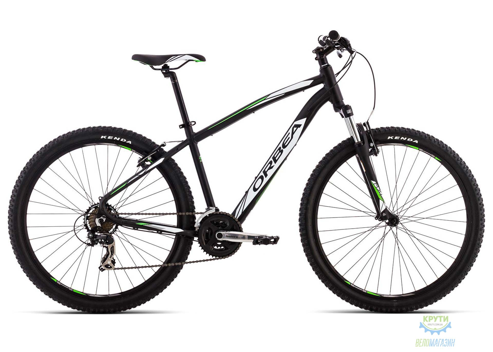 Велосипед Orbea SPORT 27 30 M Black-White 2016