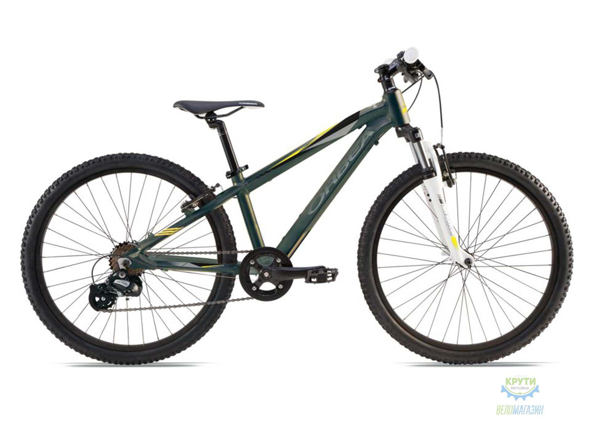 Велосипед детский Orbea MX 24 XC 2016 Antracite-Yellow 2016