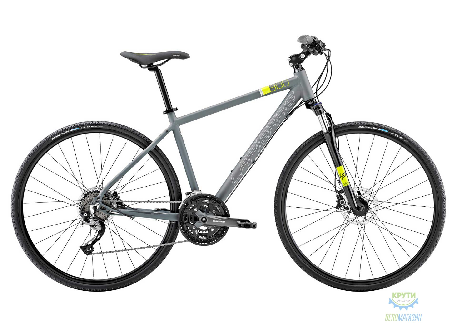 Велосипед Lapierre CROSS 300 51 L Grey 2016
