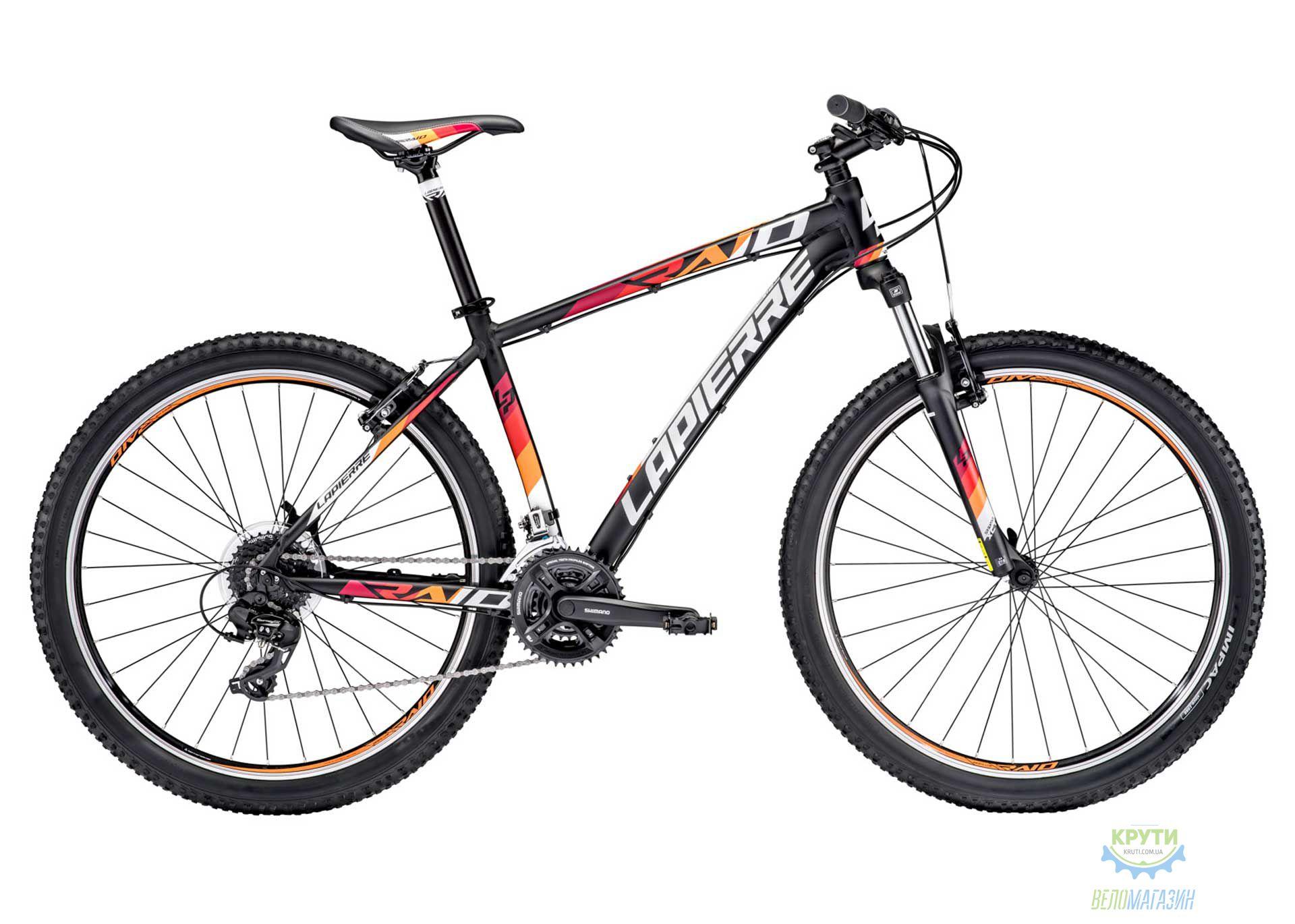 Велосипед Lapierre RAID 127 50 L Black/White/Orange 2016