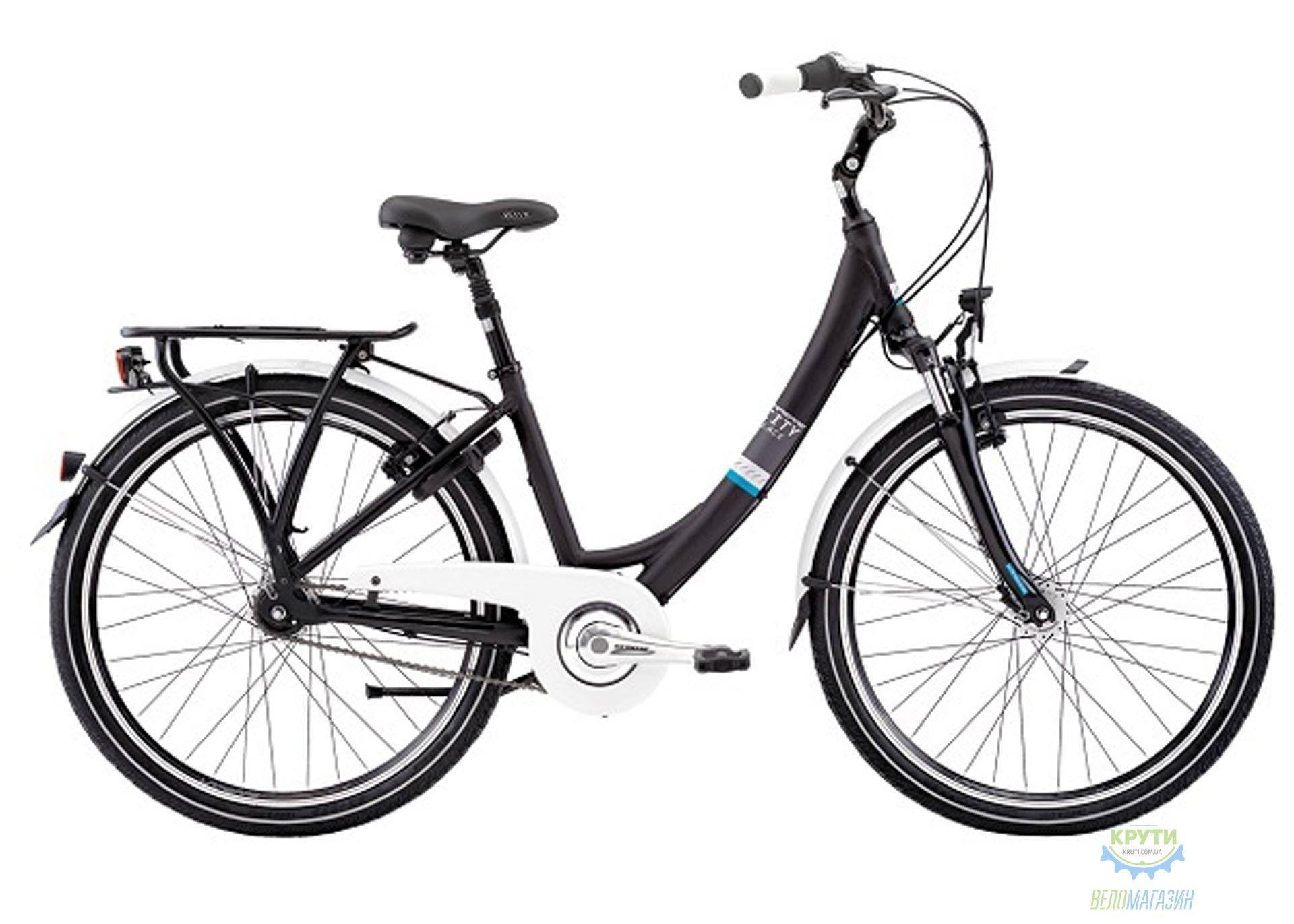 Велосипед Lapierre VTC BLACK MAT Unisex 28 46 M 2016