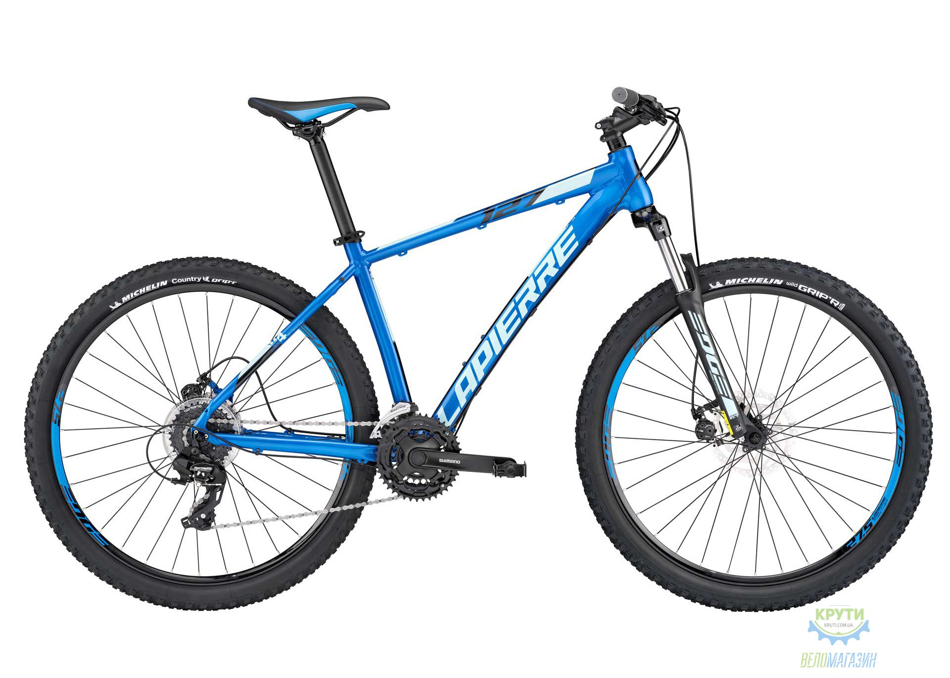 Велосипед Lapierre EDGE 127 Disc 40 S Blue 2017