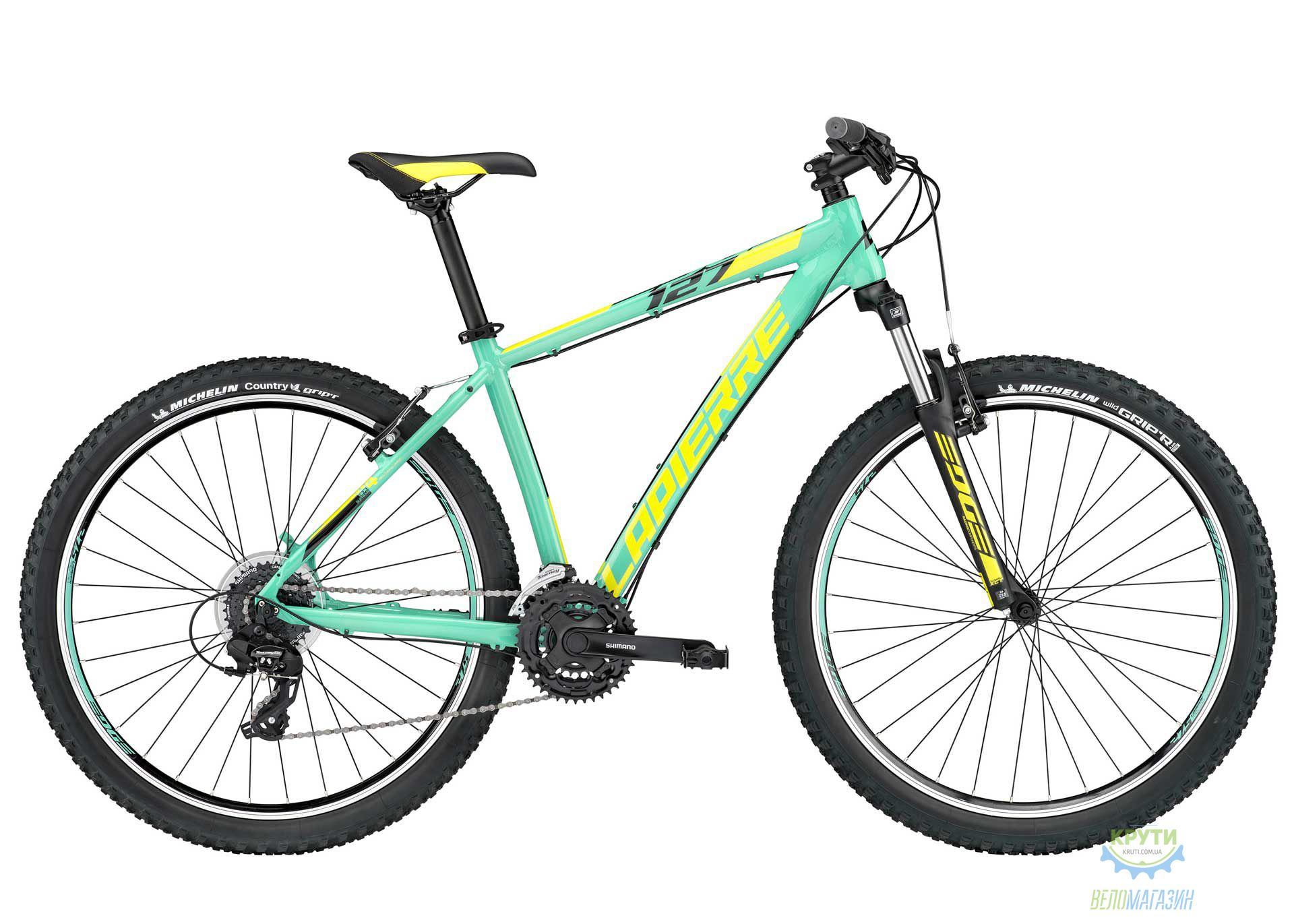 Велосипед Lapierre EDGE 127 Woman 40 S Green/Yellow 2017