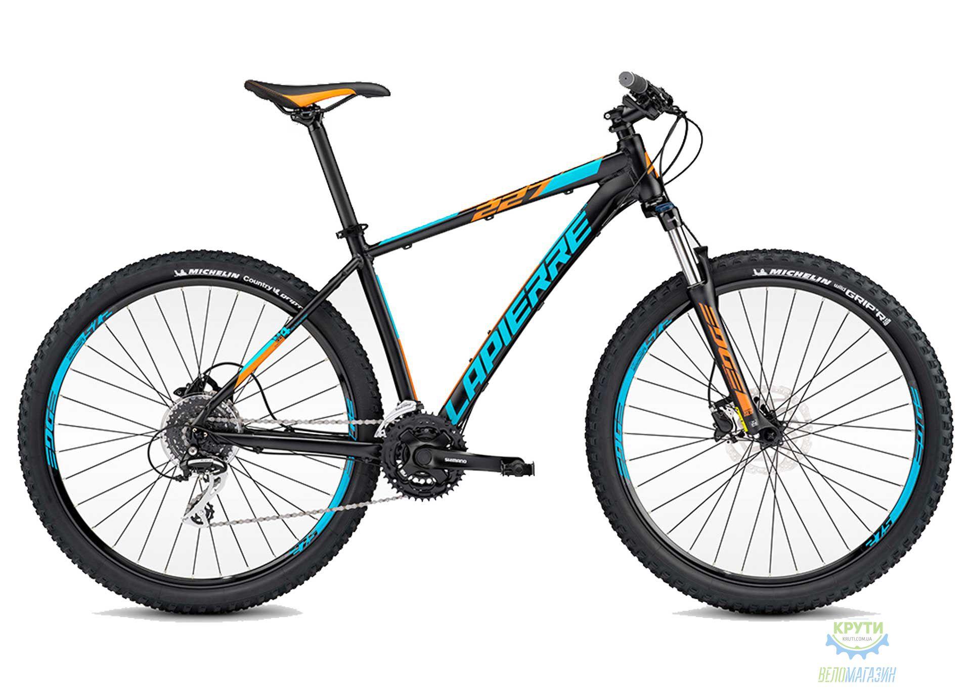 Велосипед Lapierre EDGE 229 50 L Black/Blue 2017