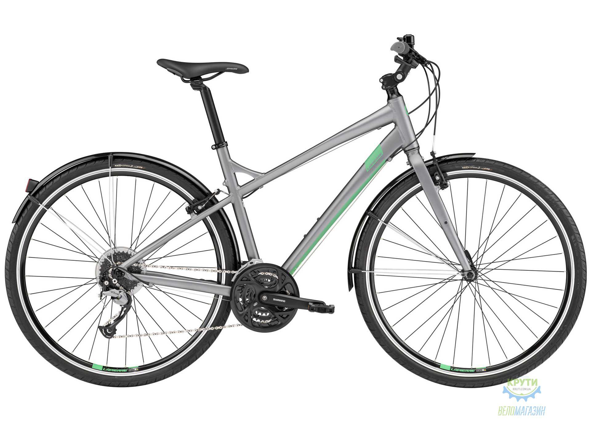 Велосипед Lapierre Speed 400 48 Gray/Green 2017