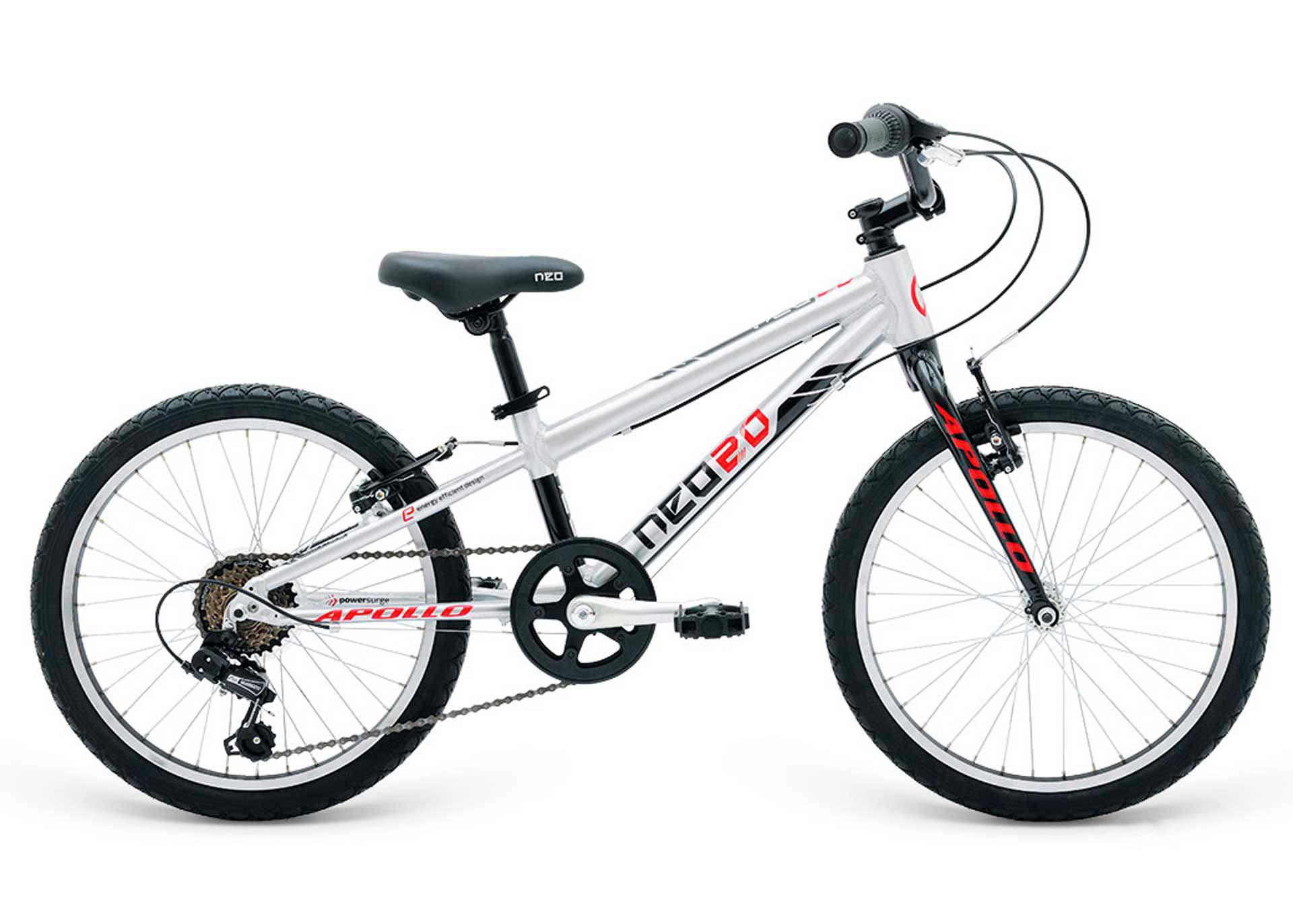 Велосипед 20 Apollo Neo 6s boys черный/красный 2018