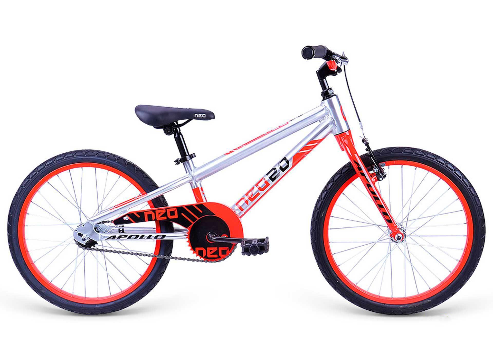 Велосипед 20 Apollo Neo boys красный/черный 2019
