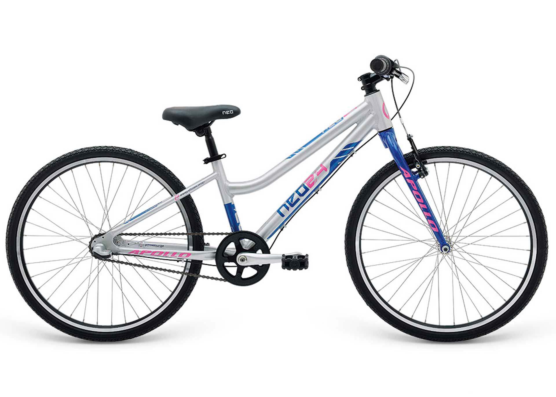 Велосипед 24 Apollo Neo 3i girls синий/розовый 2018